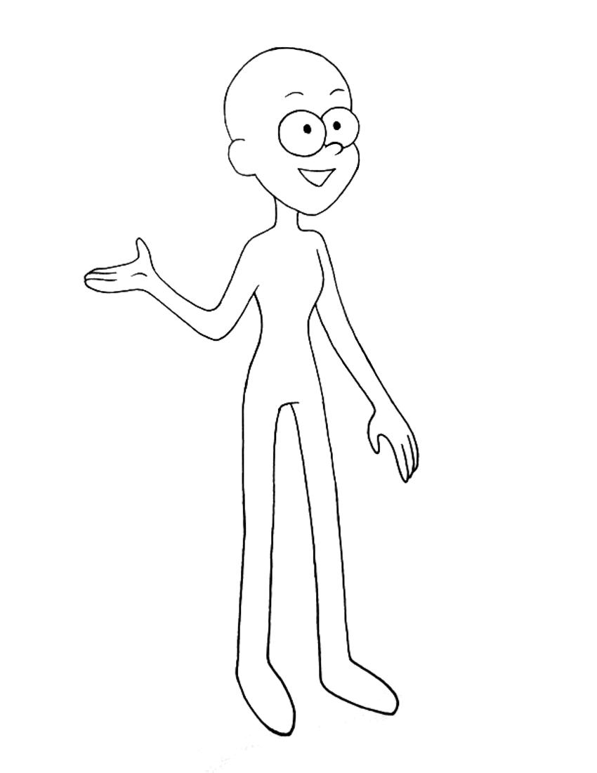 850x1100 Draw Yourself Gravity Falls Style Echoisweird
