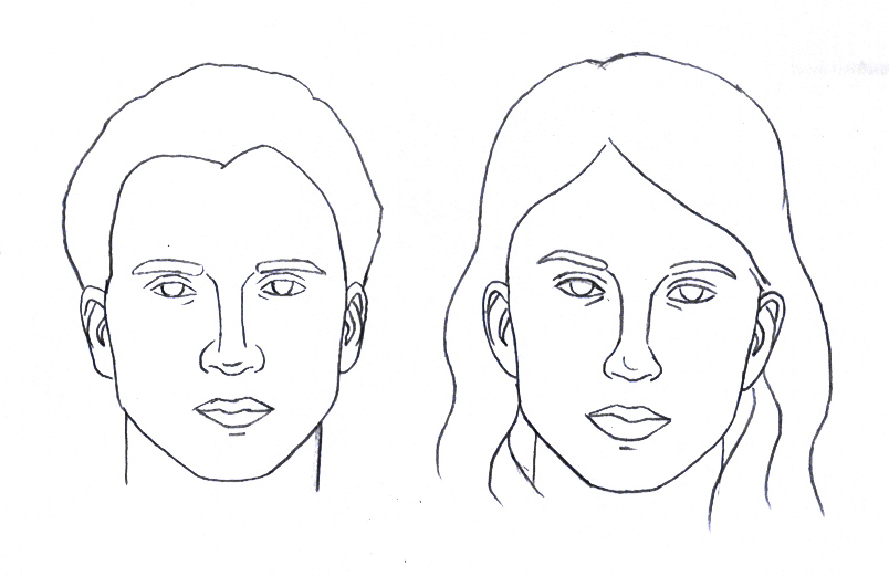 Female face drawing outline at getdrawings free for personal 804x521 10 blank face chart templates male face charts ccuart Gallery