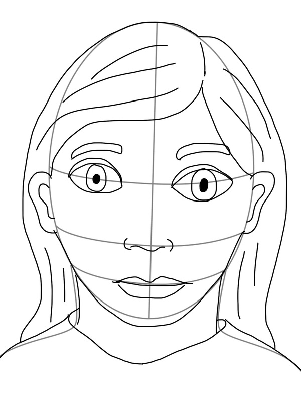 600x800 Self Portrait On The Ipad