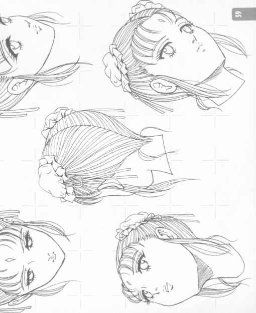 510x625 Characters Expressions By Type Head Real Type Shoujo Manga Genre