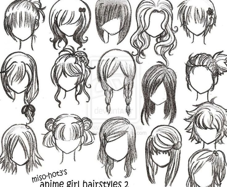 736x608 Anime Curly Hairstyles For Girls Manga, Drawing Hair And Anime Hair