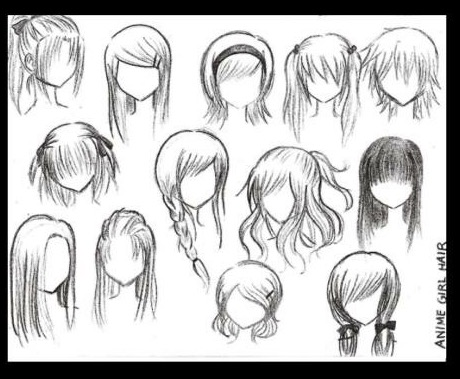 Female Hairstyles Drawing At Getdrawings Com Free For Personal Use