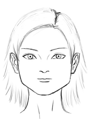female head drawing at getdrawings com free for personal use