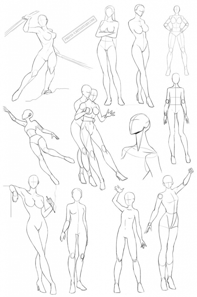 Female Human Body Drawing at GetDrawings.com | Free for personal use ...