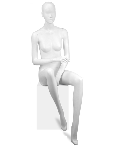 425x500 Mannequin Seated Woman Y641 03