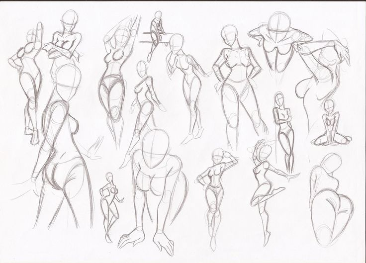 Female Poses For Drawing At Getdrawings Free For Personal Use