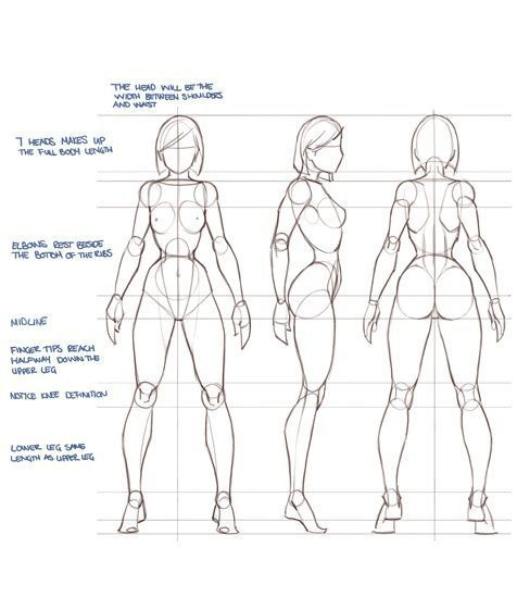 Female Reference Drawing