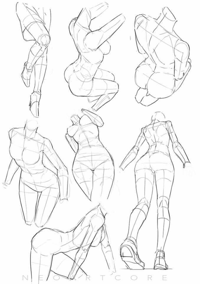 Female Reference Drawing At Getdrawings Free For Personal Use