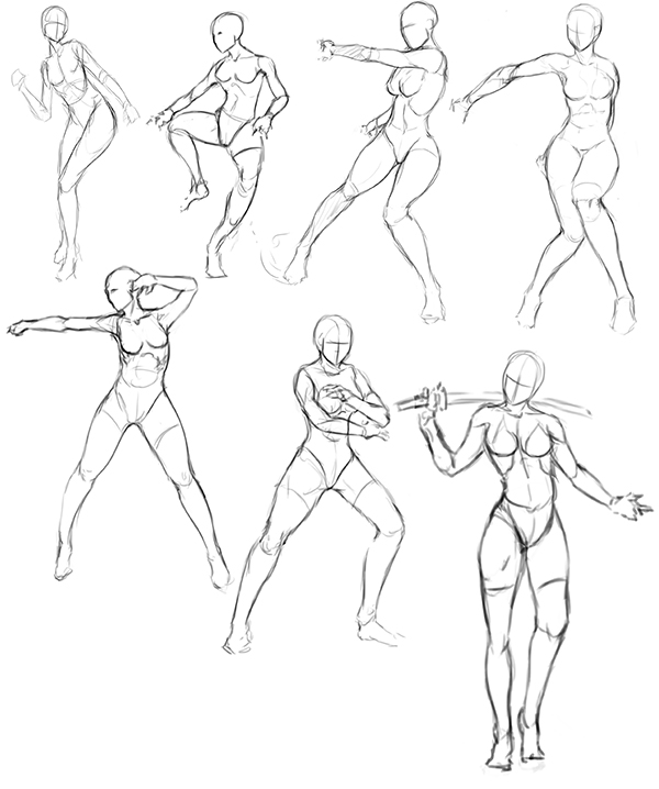 Female Reference Drawing at GetDrawings.com   Free for personal use ...