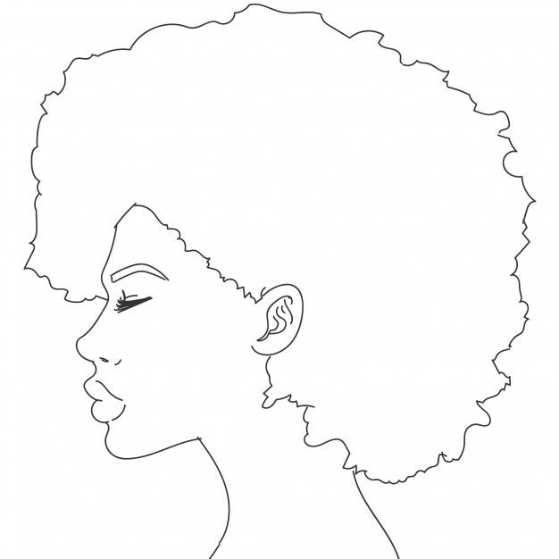 Female Silhouette Drawing