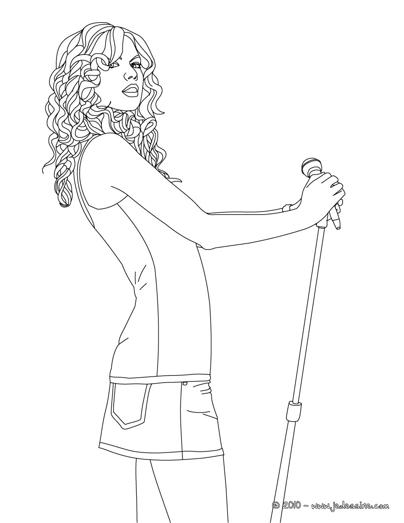 821x1061 Taylor Swift Coloring Pages Celebrities Coloring Pages