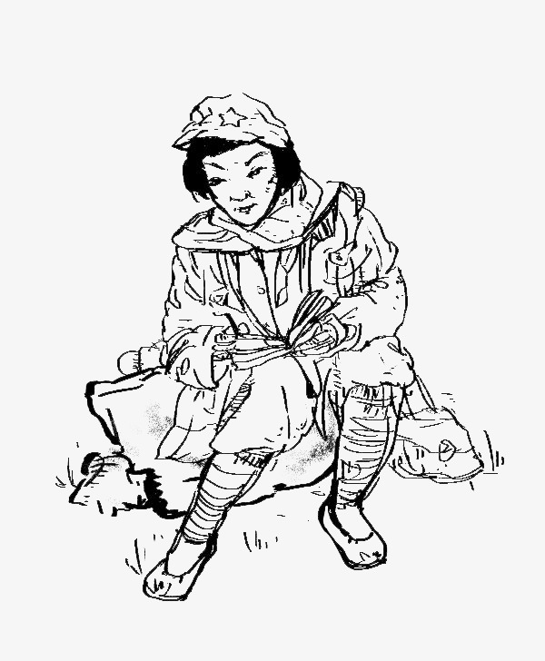 600x728 Wounded Female Soldier, Injured, Female Soldiers, Cartoon Png
