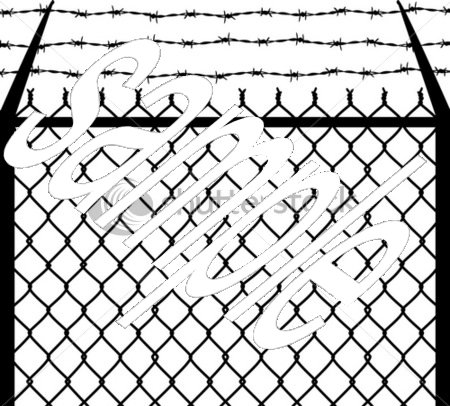 Fence Drawing At Getdrawings Com