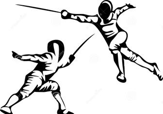 fencing drawing at getdrawings com free for personal use fencing rh getdrawings com fencing sword clipart fencing clipart