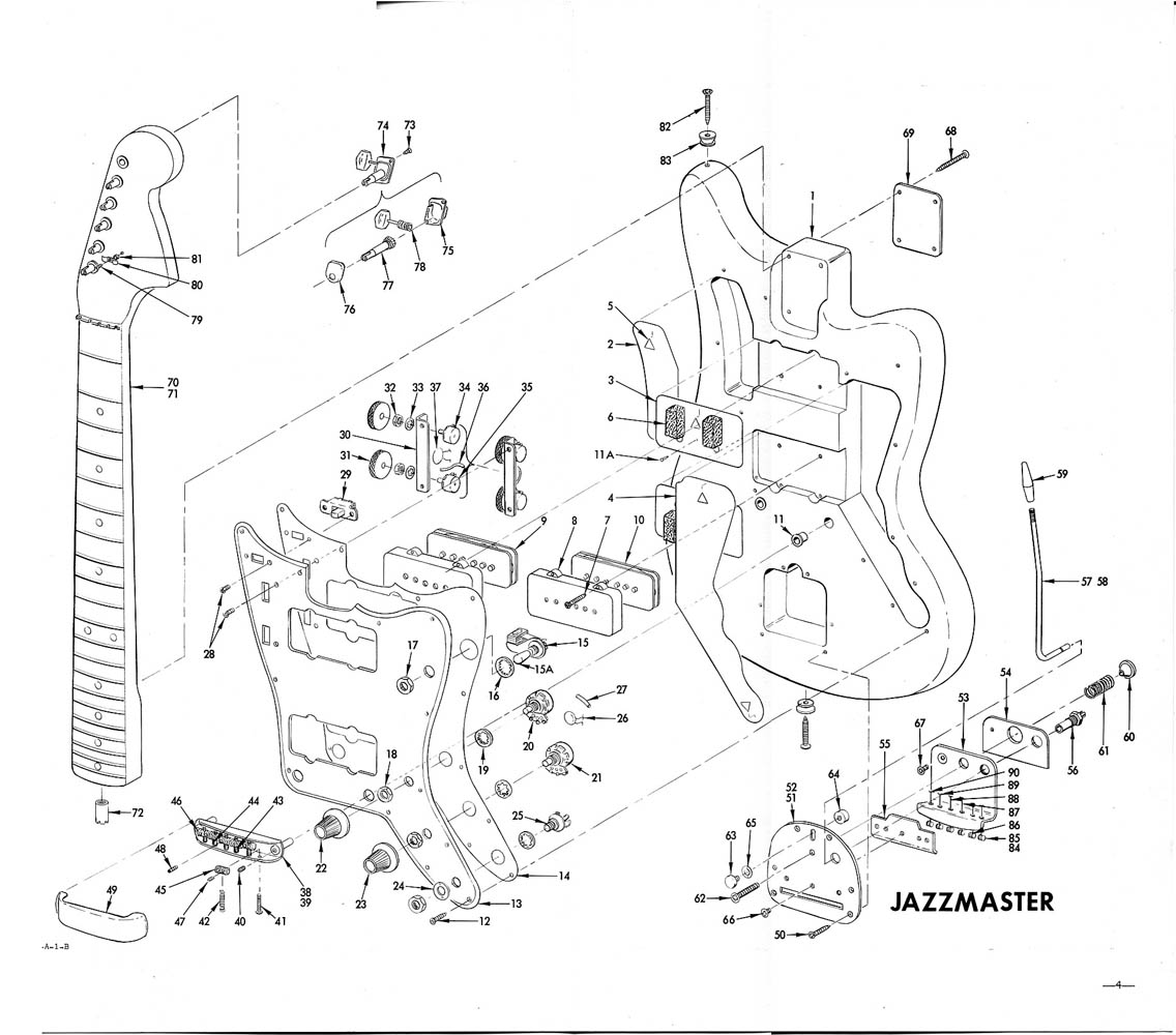 Fender Stratocaster Drawing At Free For Personal Strat Wiring Diagrams 1136x1000 Jazzmaster Building Schematic Guitars