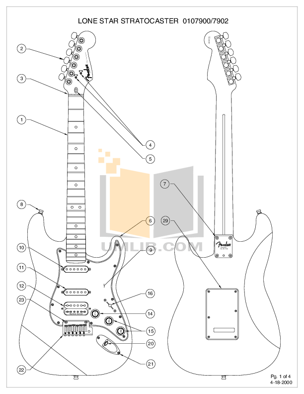 Fender Stratocaster Drawing At Getdrawings Com