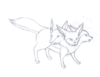 Line Drawing Fox : Fennec fox drawing at getdrawings.com free for personal use