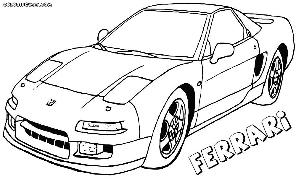 Kleurplaten Ferrari Enzo.Kleurplaat Ferrari 458 Italia Kleurplaten Tekeningen