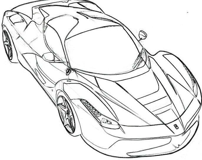 Kleurplaten Ferrari Enzo.Ferrari 458 Drawing At Getdrawings Com Free For Personal
