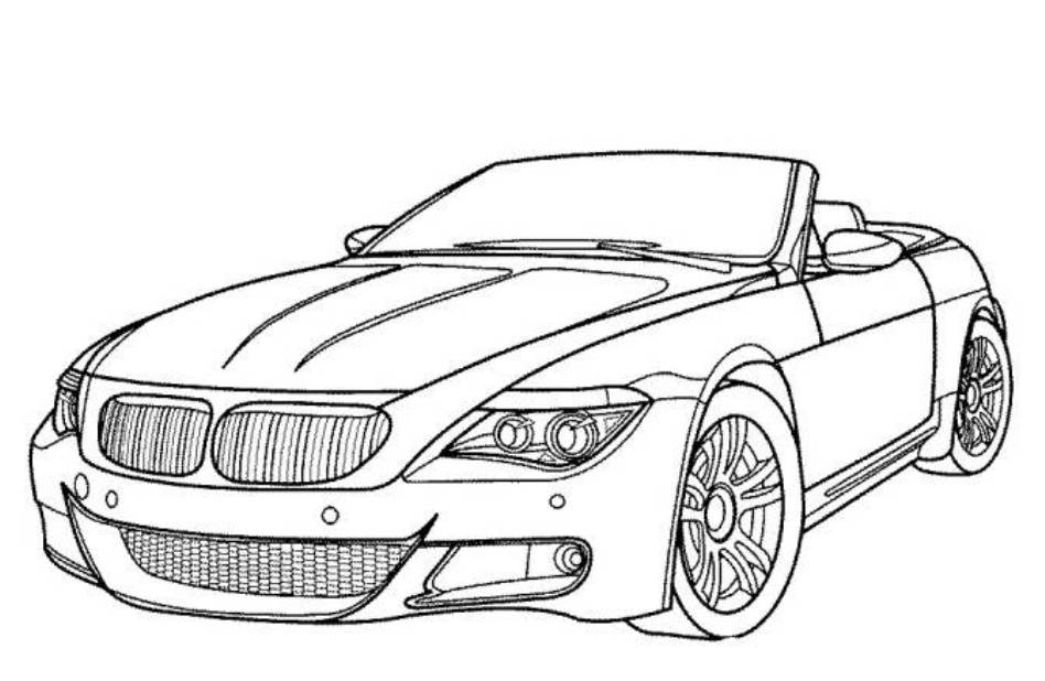948x618 Cool Car Coloring Pages 509246