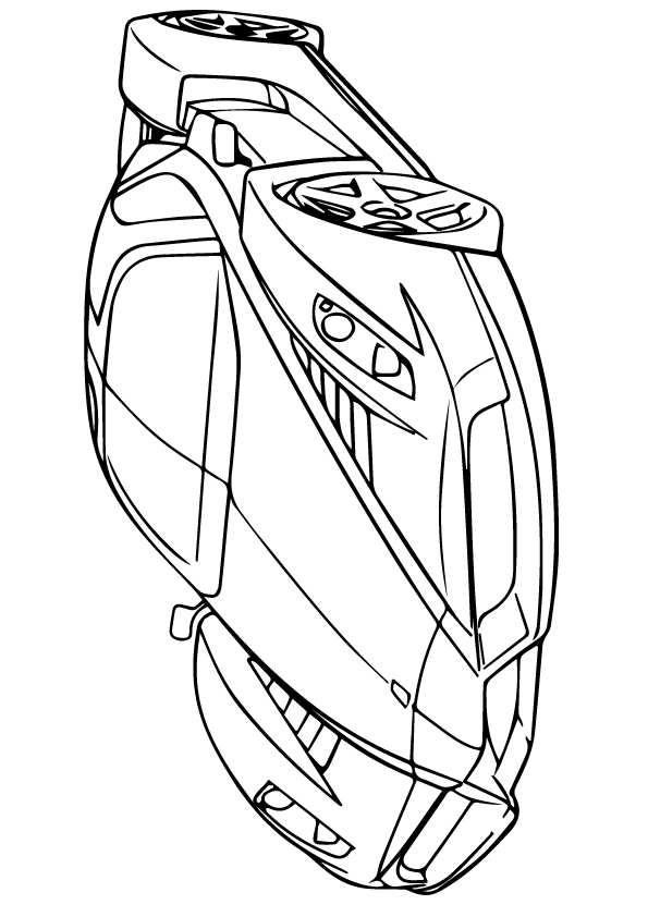 595x842 Cool Car Coloring Pages Ferrari