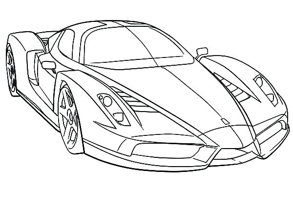 600x427 Epic Coloring Pages Ferrari Print