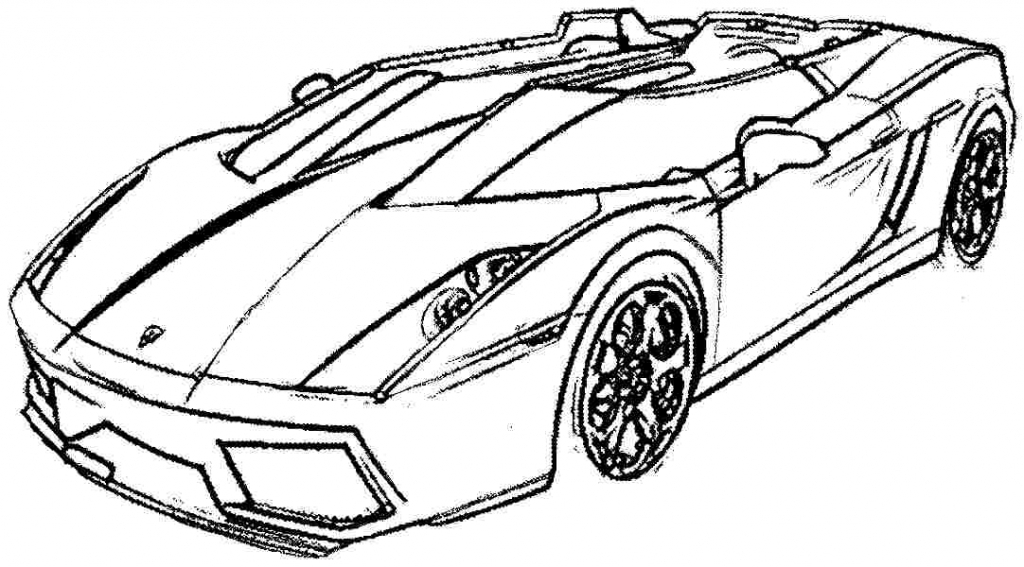1024x567 Ferrari Sport Car High Speed Coloring Page Projects To Try Sports