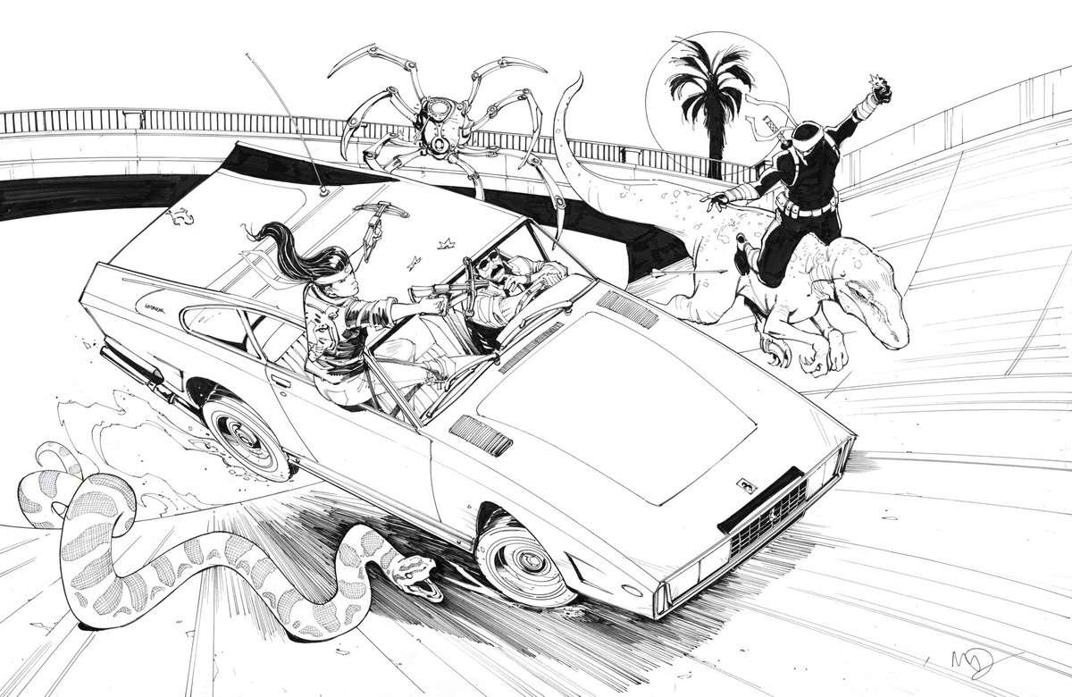 1200x780 Max Dunbar Eccc Aa6 On Twitter Car Chase Drawing Using Some