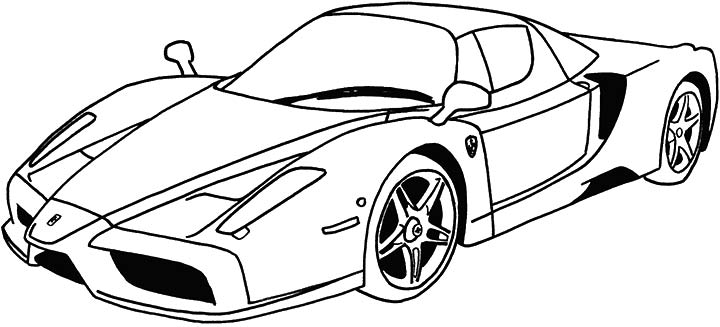 720x327 Top 10 Free Printable Race Car Coloring Pages Online Cars Soon