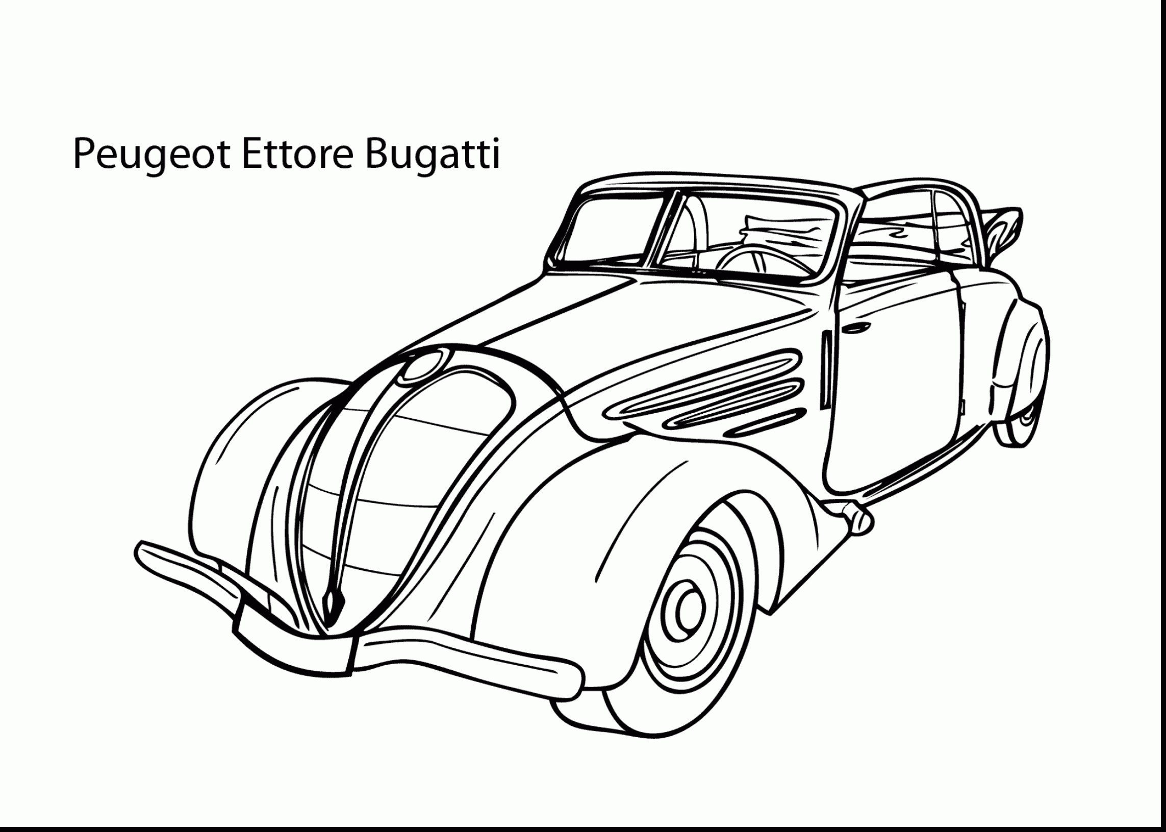 Ausmalbilder Autos Bugatti : Ferrari Drawing At Getdrawings Com Free For Personal Use Ferrari