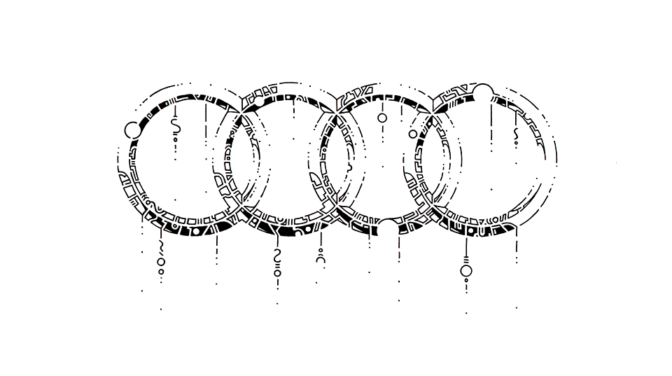 960x537 How To Draw The Audi Logo By Thomasontube