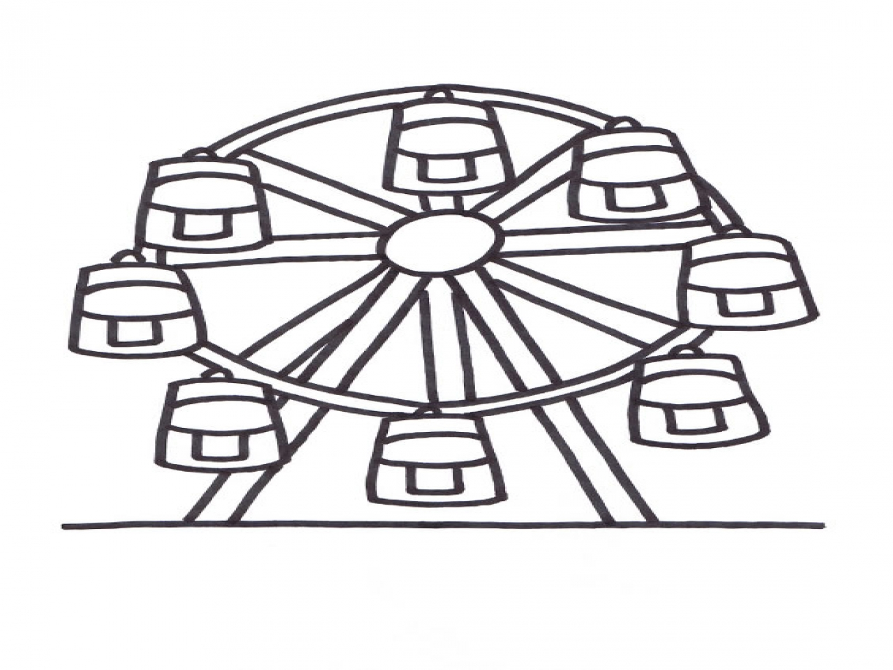 Ferris Wheel Coloring Stock Illustrations – 11 Ferris Wheel Coloring Stock  Illustrations, Vectors & Clipart - Dreamstime | 960x1280