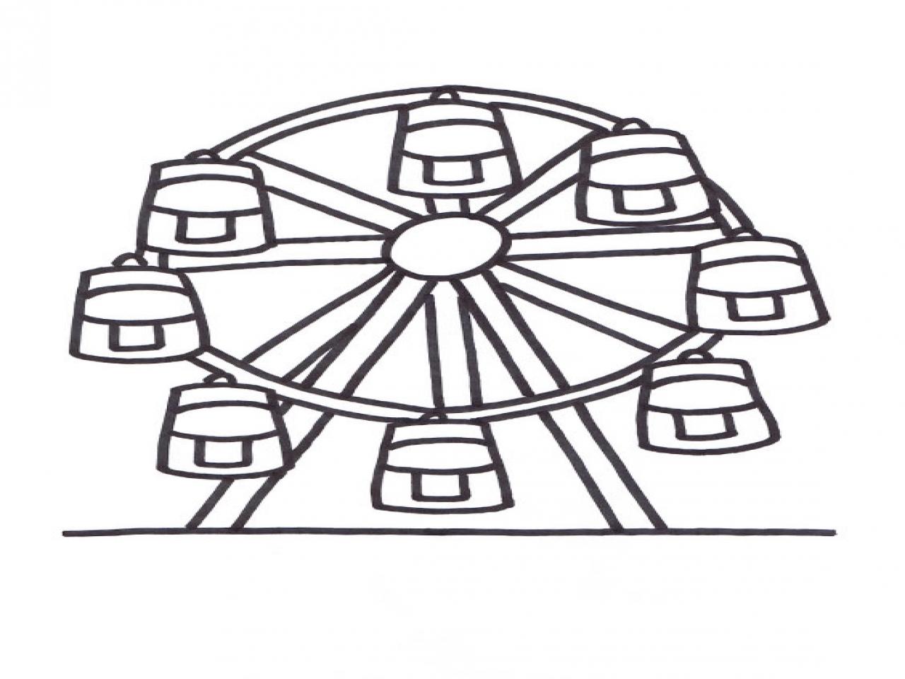 Ferris Wheel Coloring Stock Illustrations – 11 Ferris Wheel Coloring Stock  Illustrations, Vectors & Clipart - Dreamstime   960x1280