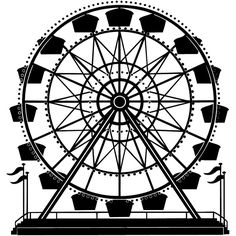 236x236 Ferris Wheel Drawing Ferris Wheel Let's Spruce Up The Place