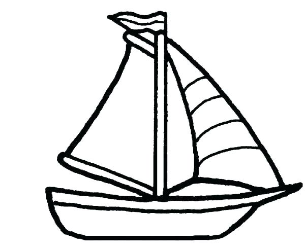 600x495 Cruise Ship Coloring Pages Learn About Sailing Boat Free Printable