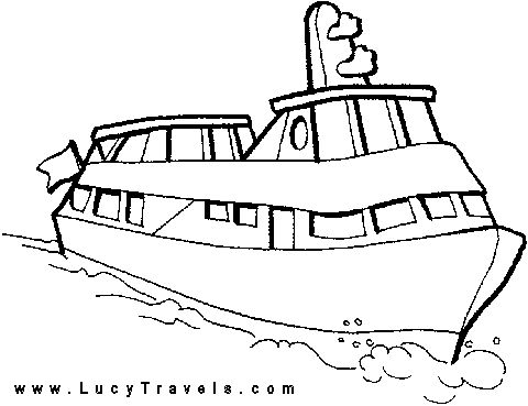 Ferry Boat Drawing at GetDrawings