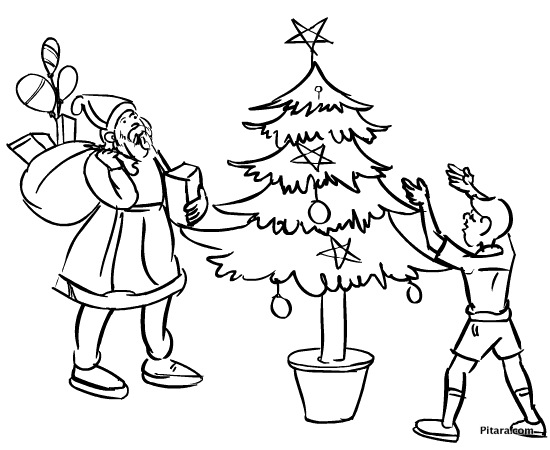 550x450 Festivals Coloring Pages Pitara Kids Network