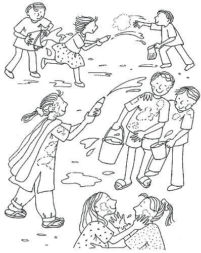 398x500 Holi Coloring Pages Coloring Sheets Holi Festival Coloring Pages