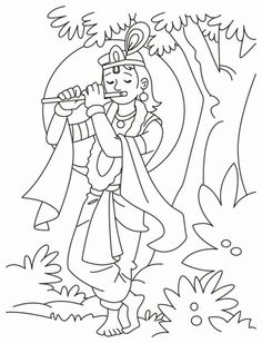 236x308 Photos Krishna Drawing Colourful Pictures For Kids,