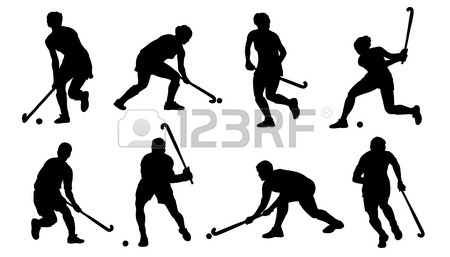 Field Hockey Stick Drawing