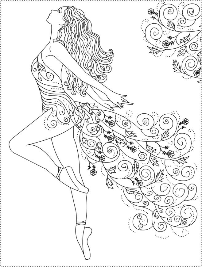 658x871 Plantillas De Ballet. Fiestas Infantiles. Ideas Y Material
