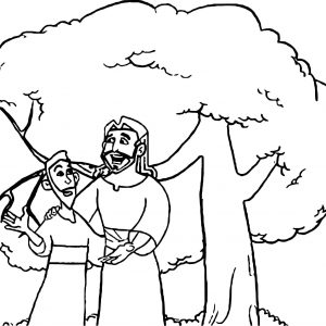 300x300 Coloring Page Fig Tree Fresh Abraham And Isaac Coloring Page