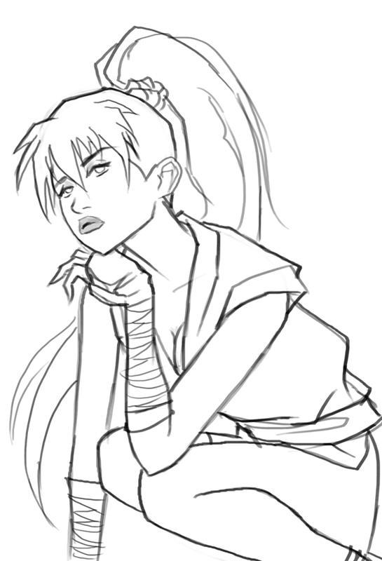 545x800 How To Draw Maki Genryusai