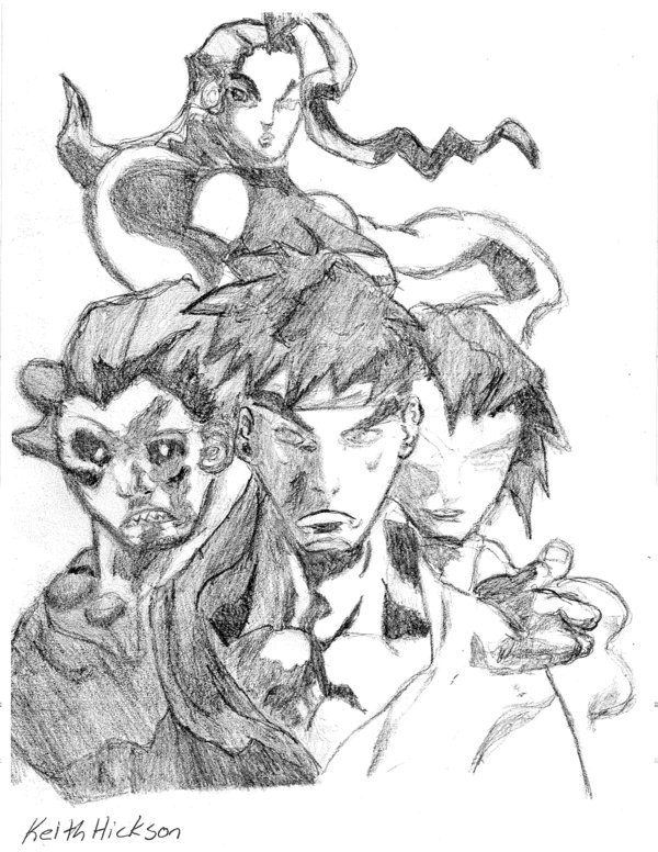 600x776 Street Fighter Drawing By Ankhu