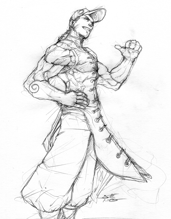 547x700 Street Fighter Iii Yun By Ngboy