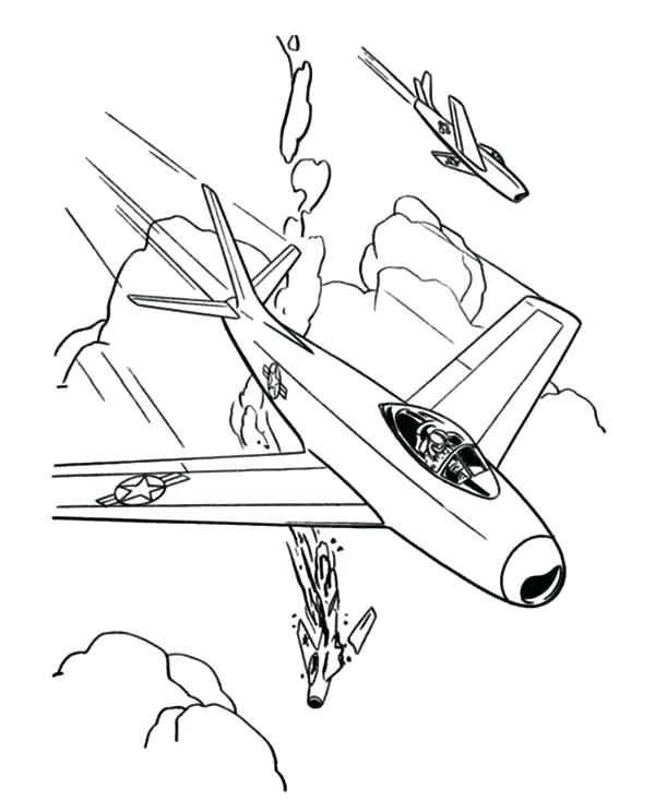600x734 Jet Coloring Pages Airplane Jet Fighter Airplane Coloring Army Jet