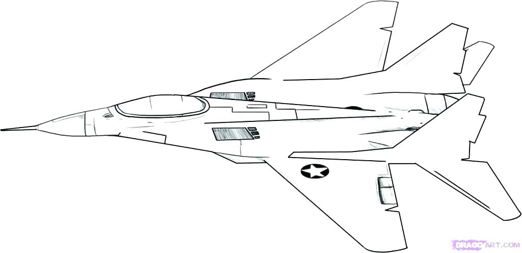 Fighter Jet Drawing at GetDrawings.com | Free for personal use ...