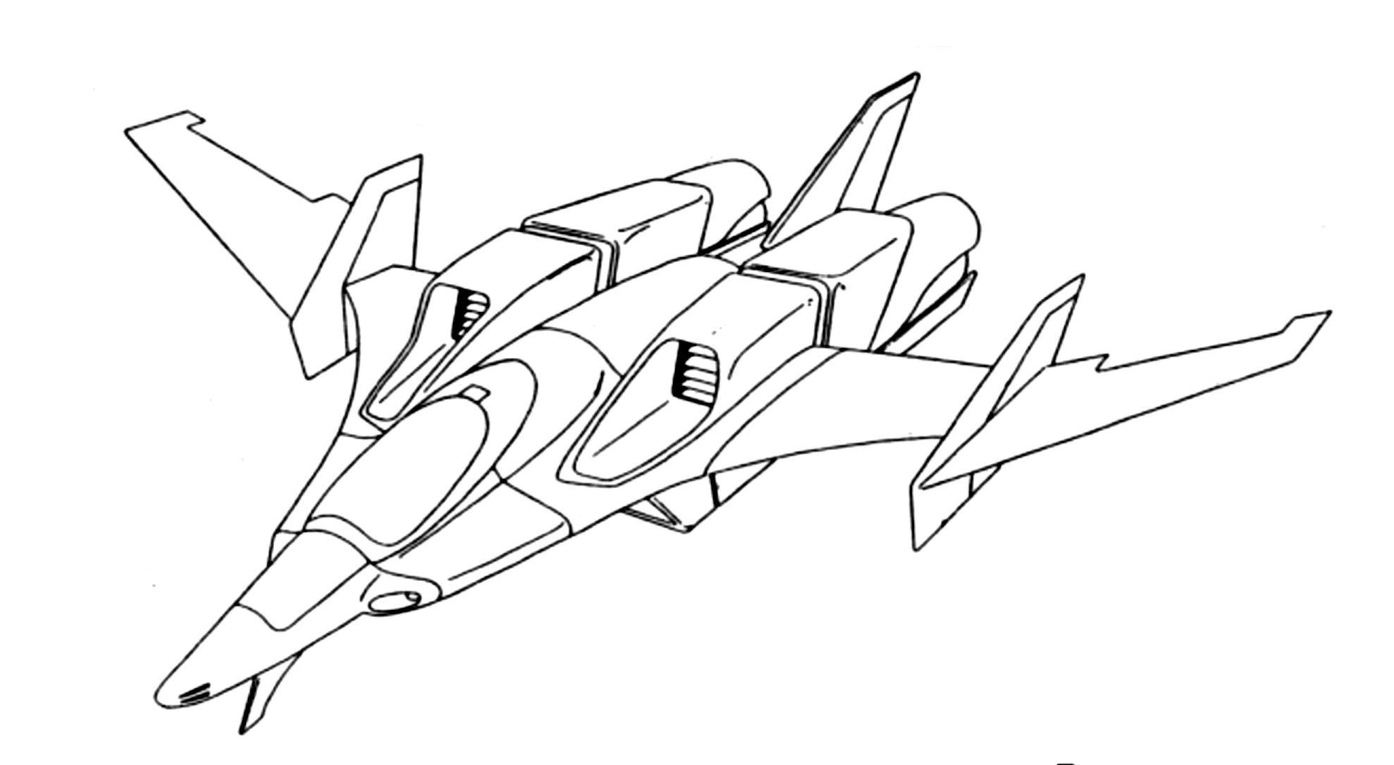 1978x1086 Saab Ab Fa 109 Sylphid Multi Role Fighter Mecha Journal