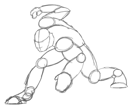 504x417 Anime Crouch Poses Crouch Pose Drawing Help Pose