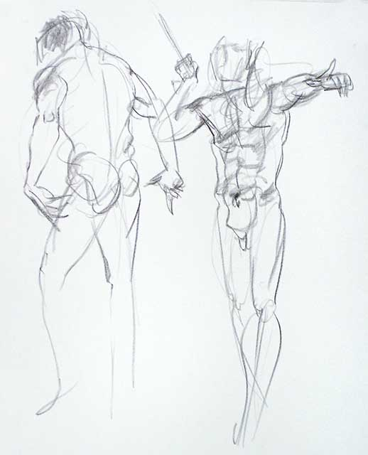 518x640 The Week in Figure Drawings